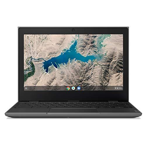 Lenovo 100E Chromebook 2ND Gen Laptop, 11.6' HD (1366 X 768) Display, MediaTek MT8173C Processor, 4GB LPDDR3 RAM, 16GB eMMC TLC SSD, Powervr GX6250, Chrome OS, 81QB000AUS, Black