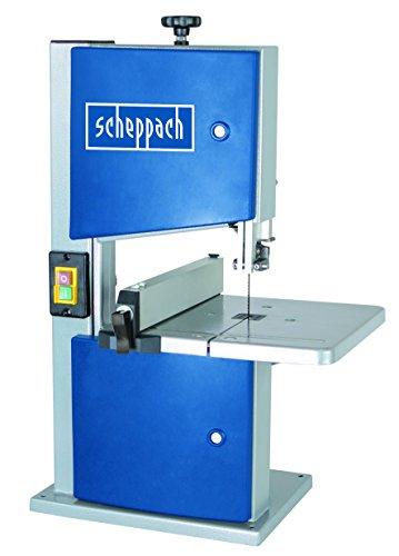Scheppach Bandsäge HBS20, Säge mit kraftvollem Induktionsmotor, Längsanschlag, robuster Stahlkonstruktion, großer Durchlasshöhe und Schnellverschluss