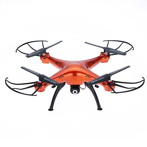 Goolsky Syma X5SW/X5SW-1 Drone UFO with HD Wifi Camera 0.3MP Camera RC Headless Quadcopter 4CH 2.4G 6-axis Gyro