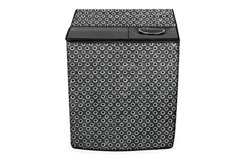 Stylista Washing Machine Cover Compatible for LG 6 Kg Semi-Automatic Top Loading P6001RG Grey
