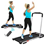 FYC 2 in 1 Folding Treadmill for Home 2.5HP Under Desk Electric Treadmill Workout Foldable Running Machine Portable Compact Treadmill for Running and Walking Exercise, Installation-Free (JK31-8)