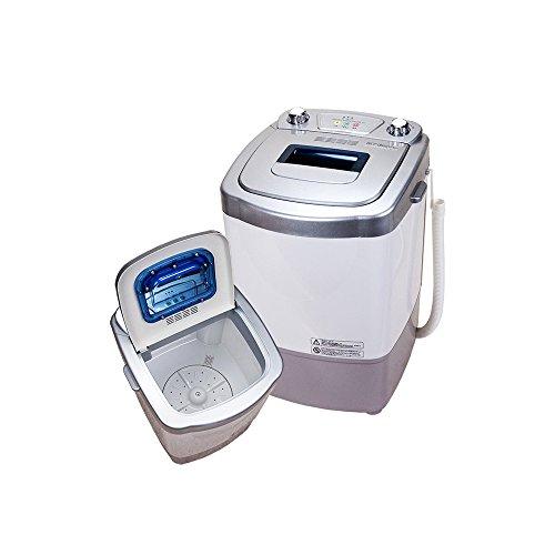 2.0キロ自動小型洗濯機ミニ洗濯機【MyWAVEマイウェーブ・オートシングル2.0】反復水流でしっかり洗浄