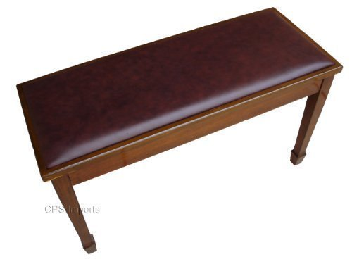 Walnut Grand Piano Bench Stool with Music Storage