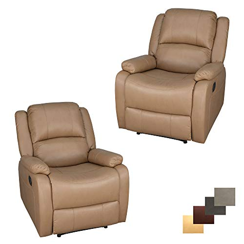 Set of 2 | RecPro Charles Collection | 30' Zero Wall RV Recliner...