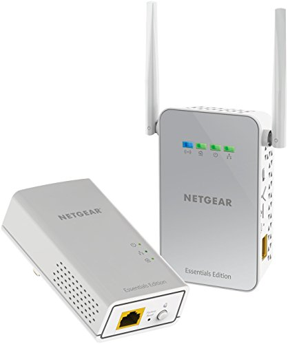 NETGEAR PowerLINE 1000 Mbps WiFi, 802.11ac, 1 Gigabit Port - Essentials Edition (PLW1010-100NAS)