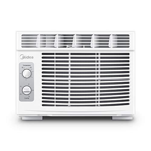 MIDEA MAW05M1BWT Window air conditioner 5000 BTU with Mechanical...