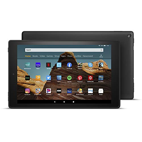 Fire HD 10 Tablet (10.1' 1080p full HD display, 32 GB) – Black – Without Ads