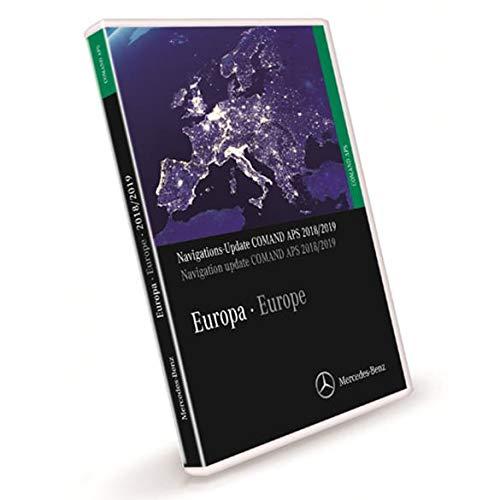 Mercedes-Benz Navigations DVD COMAND APS Europa NTG1 2018/2019 A2118270901 - Grün
