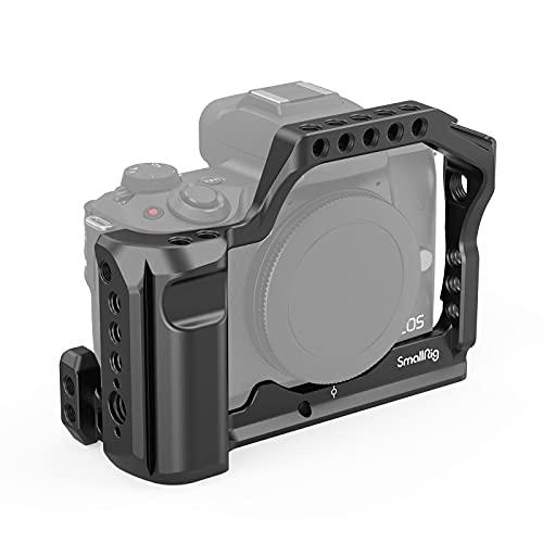 SmallRig Canon EOS M50/M5専用ケージ 拡張カメラケージ 軽量 取付便利 耐久性 DSLR 装備 Canon EOS M50/M5対応-2168
