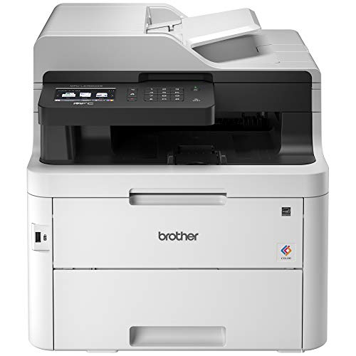 Brother MFC-L3750CDW Digital Color All-in-One Printer, Laser Printer Quality, Wireless Printing, Duplex Printing, Amazon Dash Replenishment Ready