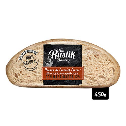 The Rustik Bakery - Pan Masa Madre Y Cereales - 450 g
