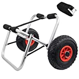 FUNPENY Kayak Carts Dolly, Canoe Carrier Trolley with Wheels for Paddleboards, Boats, Floats