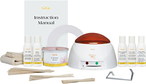 GiGi Mini Pro Complete All-Purpose Hair Removal System Starter Mini Waxing Kit