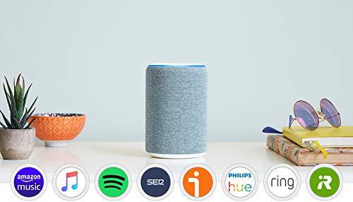 Amazon Echo (3.ª generación) - Altavoz inteligente con Alexa -...