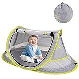 HALOVIE Tente Plage Bébé Anti UV UPF 50+ Pliable Tente Pop Up pour...
