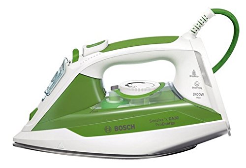 Bosch TDA302401E Ferro da Stiro, 2400 W, 40, Bianco/Verde