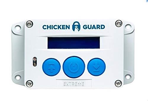 CHICKENGUARD 'Extreme' Chicken Coop Pop Door Opener Lifts Up to 8 lbs,