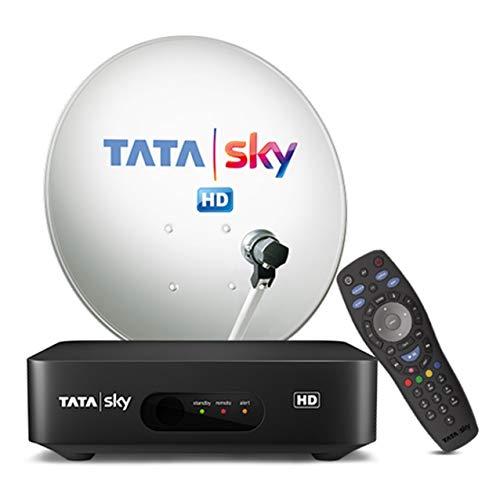 Tata Sky HD Set Top Box + 1 Month HD Family Kids Sports Pack + Installation