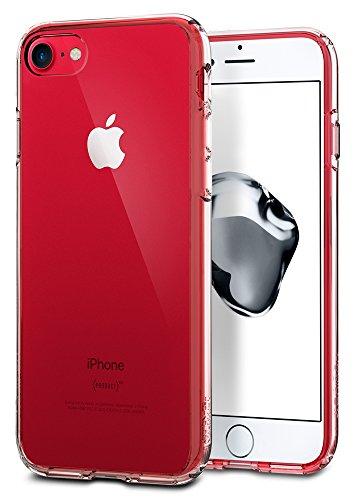 【Spigen】 iPhone7ケース, ウルトラ・ハイブリッド  米軍MIL規格取得 落下 衝撃 吸収  アイフォン 7 用 カバー (iPhone7, クリスタル・クリア)