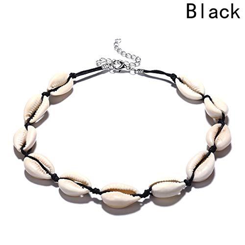 Jewelry Personality Freizeit Artikel reine Handschale Kurze Kragenkette Schwarz