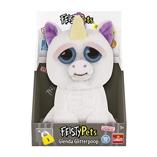 Feisty Pets-32334 Peluche Unicornio, (Goliath Games 32295