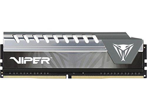 Viper Elite DDR4 2666 4GB (1x4GB) C16 Módulo RAM de Memoria Alto Rendimiento XMP 2.0 Negro/Gris PVE44G266C6GY