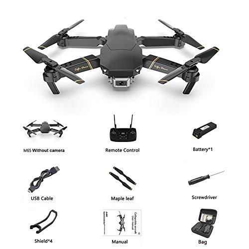gaeruite Drone M65 RC con HD WiFi FPV HD Camera Altitude Hold, Pieghevole 2.4G RC Quadcopter Drone...