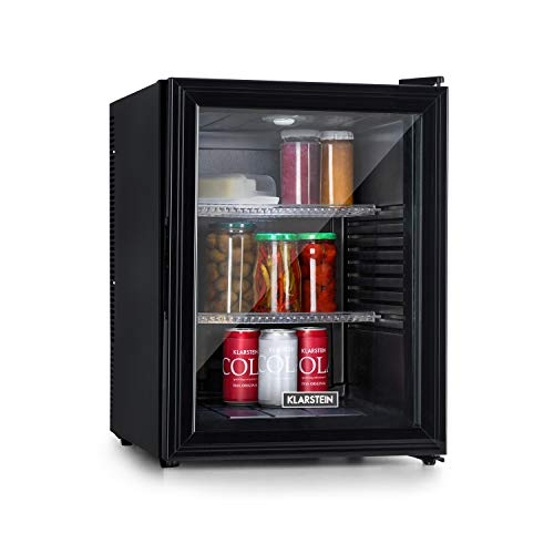 KLARSTEIN Brooklyn 42 - Mini Frigo, Minibar, Compatto, Sistema Raffreddamento Termoelettrico, 42 L,...