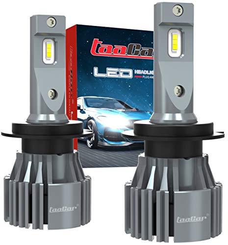 Lampadine H7 LED Canbus 12000LM 6500K, 3 Anni di Garanzia. TAACAR.