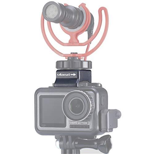 ULANZI OA-8 Supporto per microfono e morsetto per cavo per DJI OSMO Action Custodia originale con adattatore universale per pattini freddi