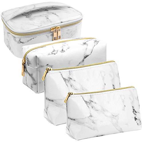 Phiraggit Sacs de maquillage en marbre Sacs à cosmétiques de voyage...