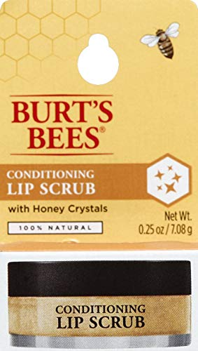 Burt's Bees 100% Natural Conditioning Lip Scrub with Exfoliating Honey Crystals - 0.25 Ounce