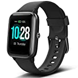 Lintelek Smart Watch with 1.3' LCD Full Touch Screen, Large Screen Fitness Tracker with Heart Rate...
