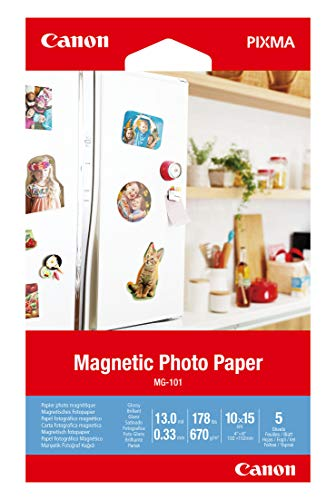 Canon MG-101-4'x6' Magnetic Photo Paper (3634C002)