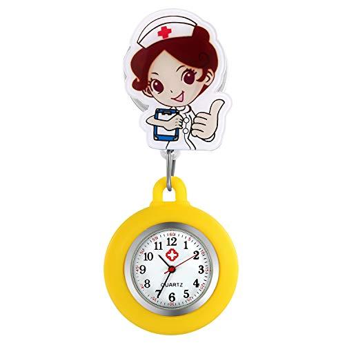 Lancardo Orologio Nurse Quarzo Infermiera Medico Donna Cartone Silicone Quadrante Digitale Non...