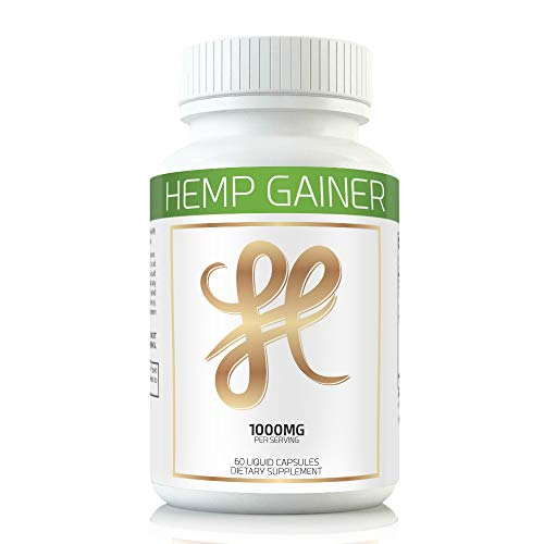 Hemp Weight Gaining Pills and Appetite Booster Will Help You GAIN Weight While You Sleep. Gain Weight Pills Help Appetite Increase Using The Weight GAIN Power of Hemp Oil. Weight Gain Pills for Women 1