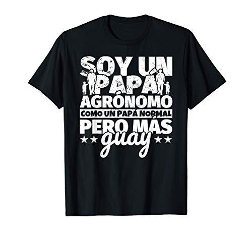 Hombre Agrónomo Regalo de padre para papá - Soy un papá Agrónomo co Camiseta