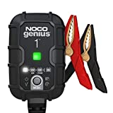 NOCO GENIUS1, 1-Amp Fully-Automatic Smart Charger, 6V And 12V Battery Charger, Battery Maintainer, And Battery...
