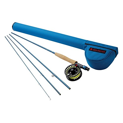 Redington Fly Fishing Combo Kit 590-4 Crosswater Outfit with Crosswater Reel 5 Wt 9-Foot 4pc