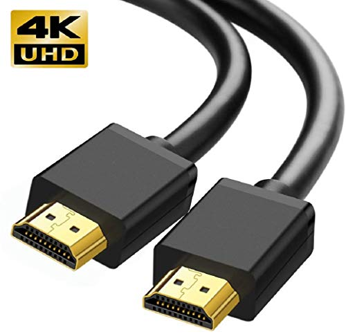 4K HDMI Cable, KOOPAO 2M/6.6FT High Speed 18Gbps HDMI 2.0 Braided Cord-Supports (4K 60Hz HDR,Video 4K 2160p 1080p 3D HDCP 2.2 ARC