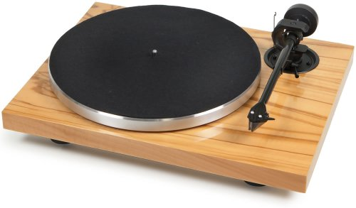 Pro-Ject - 1Xpression Carbon Classic - Turntable - With Ortofon 2M Silver Cartridge - Olive Wood