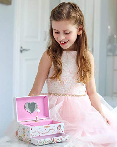 Product Image 2: The Memory Building Company Musical Ballerina Jewelry Box for Girls & Little Girls Jewelry Set - 3 Dancer Gifts for Girls…