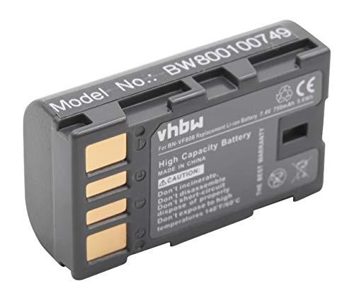 Batteria per JVC Everio GZ-MG130 sostituito/GZ-MG131 BN-VF808, ecc BN-VF808U batteria con Info-chip di dati