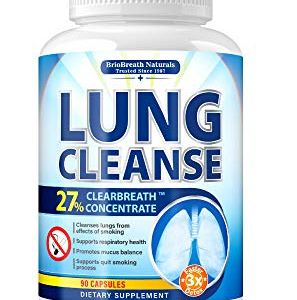 Lung Cleanse - Helps to Quit Smoking & Supports Respiratory Health - Effective Lung Detox - Made in USA - Lung Support, Asthma Relief, COPD Treatment, Allergy Relief - with Elecampane & Green Tea 4 - My Weight Loss Today