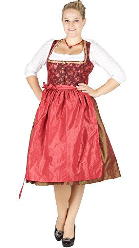 Julia Trentini 14711 Dirndl Anna 70 viola rosso oliva verde 48