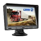AWESAFE Navegador GPS para Camiones y Coches de 9 Pulgadas, con Visera y Bluetooth, Actualizaciones...