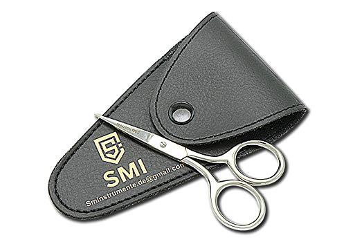 SMI - forbici per capelli Qualità premium forbici multifunzione punta fine di precisione forbici per barba baffi DIY arte e artigianato - acciaio inossidabile