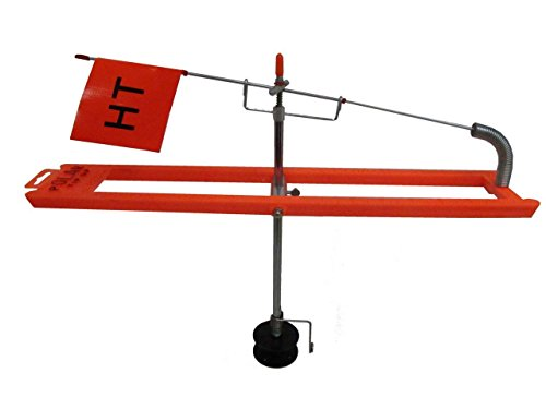 High Tech Polar Tip-Up Black - Bulk 200ft PTU-2B