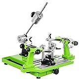 Ukiki Machine à Corder Verte Tennis Tension de 4.08 à 40.82kg Machine à Corder Badminton Fixation...