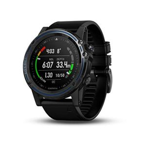 Garmin Descent Mk1, Watch-Sized Dive Computer with Surface GPS, Includes Fitness Features